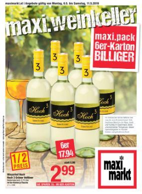 Maximarkt Weinkeller