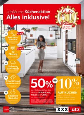 XXXLutz Jubiläums-Küchenaktion