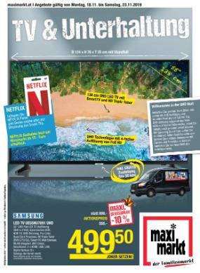 Maximarkt TV & Unterhaltung