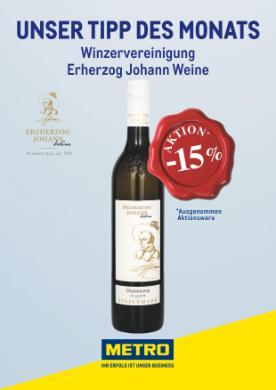 Metro Wein des Monats