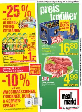 Maximarkt Linz , Haid , Wels , Ried  & Vöcklarbruck