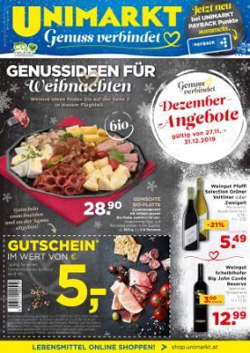 Unimarkt Sonderflugblatt