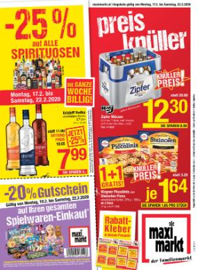 Maximarkt Linz/Haid/Ried/Wels/Vöcklabruck