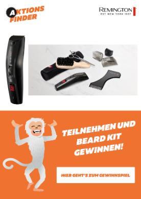Aktionsfinder Gewinnspiel Beard Kit