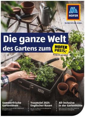 Hofer Gartenkatalog