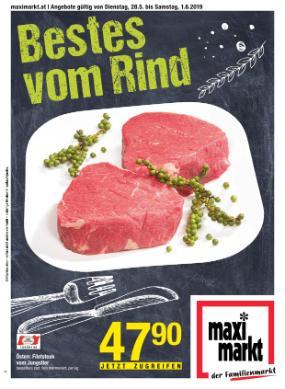 Maximarkt Ried Beilage - Das Bestes vom Rind