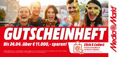 MediaMarkt Gutscheinheft