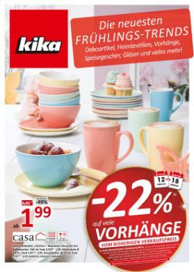 kika Deko Frühjahr