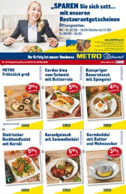 Metro Restaurant Coupon