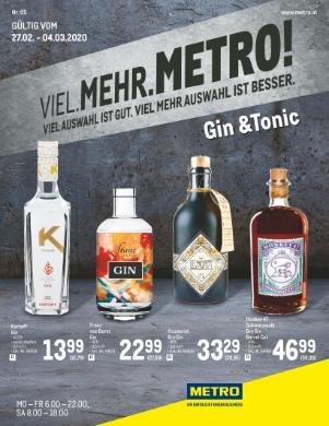 Metro Gin Tonic
