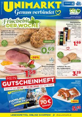 Unimarkt Oberösterreich, Niederösterreich & Salzburg