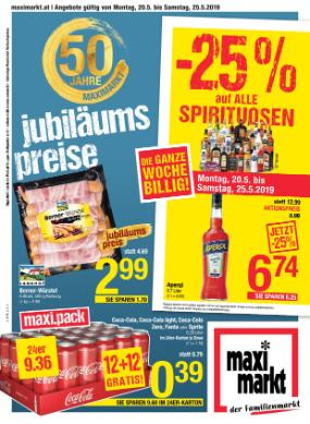Maximarkt Anif, Bruck, Linz, Haid, Wels & Vöcklabruck