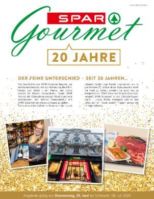Spar Gourmet 20 Jahre