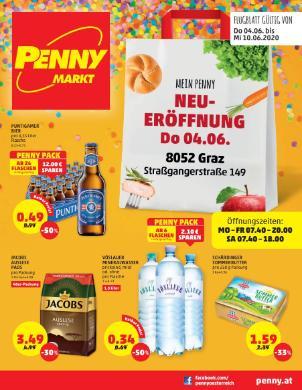 Penny Graz Neueröffnung