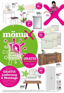 mömax 10 Jahre mömax.at online-Shop