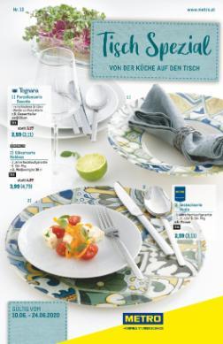 Metro Tisch-Spezial