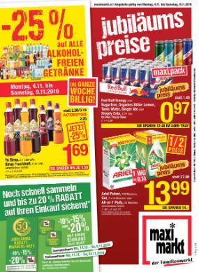 Maximarkt Linz / Haid / Wels / Vöcklabruck