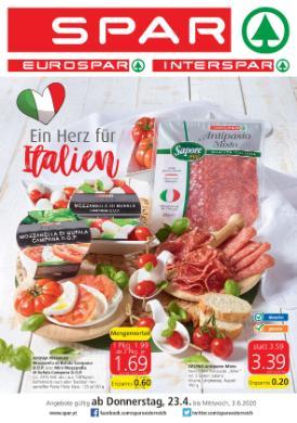 Spar Italien Beilage