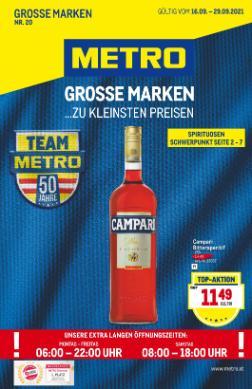 Metro Große Marken