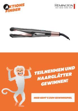 Aktionsfinder Gewinnspiel Haarglätter