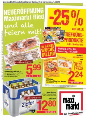 Maximarkt Linz, Haid, Wels & Vöcklabruck