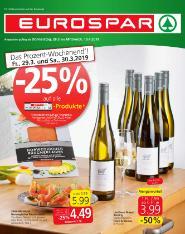 Eurospar Wien, Niederösterreich, Burgenland