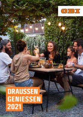 OBI Gartenmöbel-/Grillkatalog 2021
