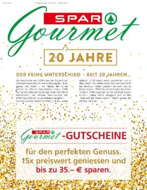 Spar Gourmet Gutschein-Beilage