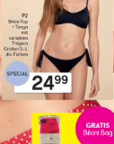 P2 Bikini-Top + Tanga