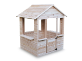 Kinderspielhaus aus Holz