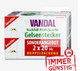 Vandal Nachfüll-Plättchen für Gelsenstecker 2 x 20 Stk.