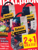 Barbecue Grillkohle oder Briketts