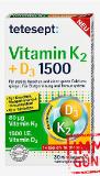tetesept Vitamin K2 + D3 Tabletten