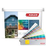 Aviva Tirosilc-Color, Fassadenfarbe in Weiß- und Pastellfarbtönen