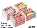 Manner Neapolitaner, Vollkorn, Cocos, Zitronen Schnitten oder Snack Minis, 3er oder 4er-Packung, 225 g oder 300 g