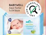 babywell Aqua Tücher 3 x 54 Stück