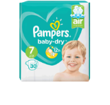 PAMPERS BABY-DRY Windeln Value Pack