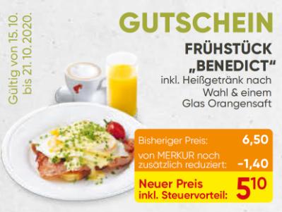 "Frühstück ""Benedict"""