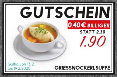 Griessnockerlsuppe