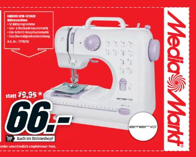 Emerio SEW-121820 Nähmaschine