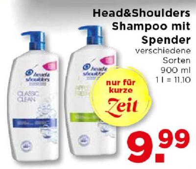 Head&Shoulders Shampoo mit Spender