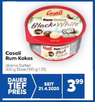 Casali Rum Kokos in diversen Sorten um € 3,99