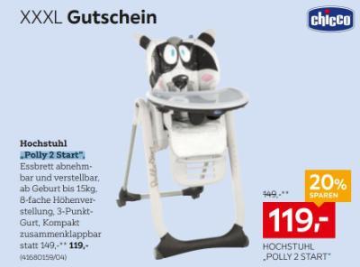 "Hochstuhl ""Polly 2 Start"""