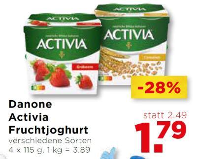 Danone Activia Fruchtjoghurt