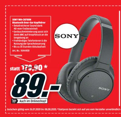 Sony WH-CH700N Bluetooth Over-Ear Kopfhörer