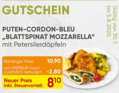 "Puten Cordon Beu ""Tomate Mozzarells"""