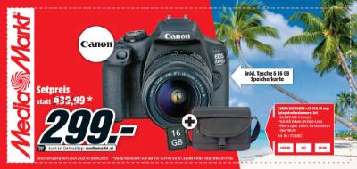 Canon EOS 2000D + EF-S18-55 mm Spiegelreflexkamera-Set