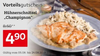 "Hühnerschnitzel ""Champignon"""