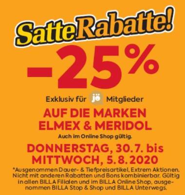 -25% auf die Marken Elmex und Meridol