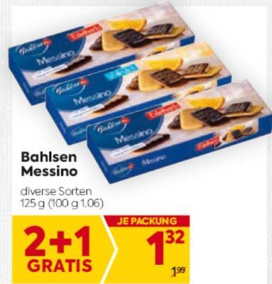 Bahlsen Messino in diversen Sorten um € 1,32